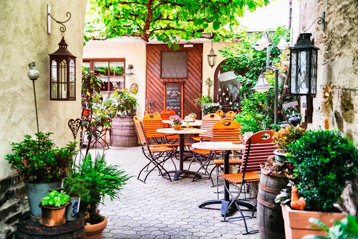 Terrazas pequeas con encanto awesome decoracin de for Restaurante la terraza de la casa barranquilla