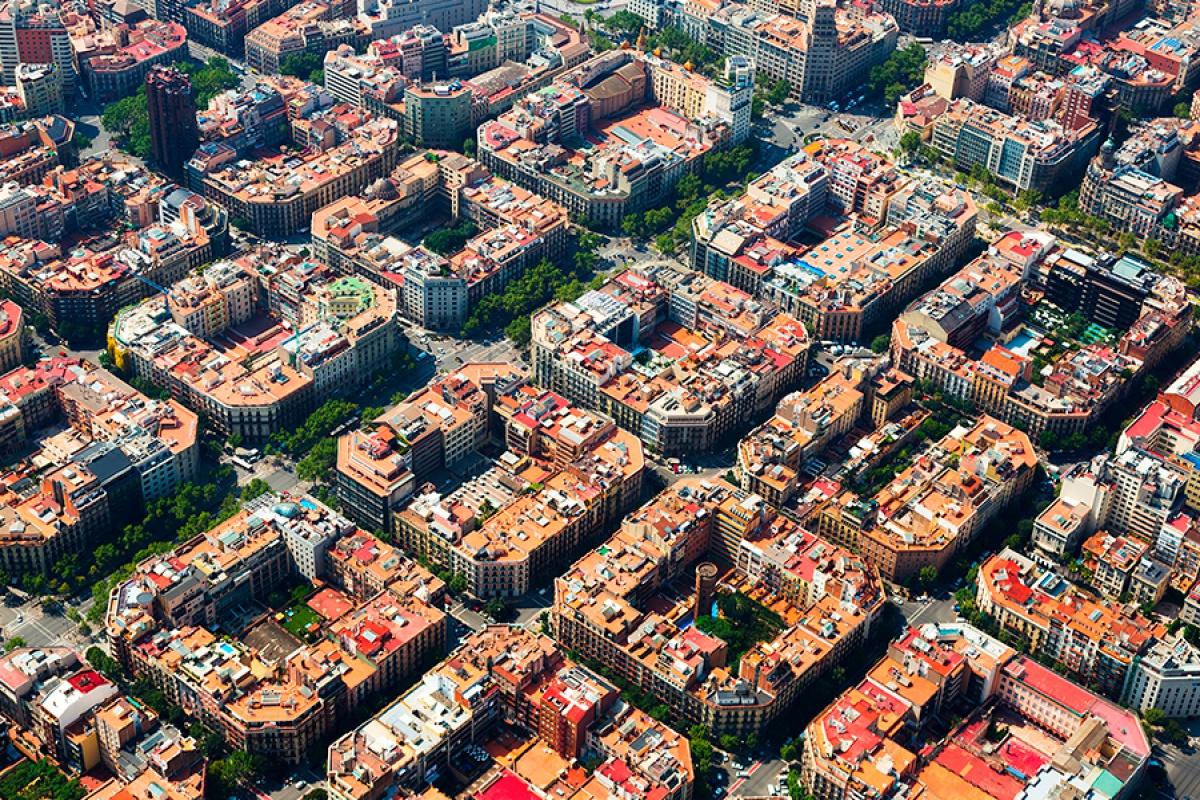 Resultado de imagen de ensanche de barcelona