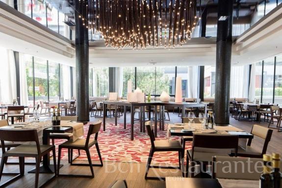 Restaurante mosaic barcelona for Hotel w barcelona restaurante