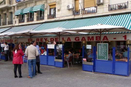 Fotos Del Restaurante El Rey De La Gamba I Barcelona