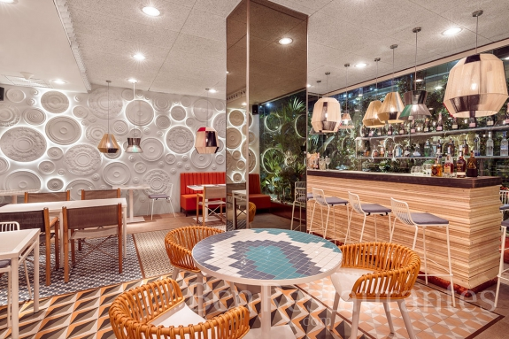 restaurante el jard n del ed n barcelona tel 930180620